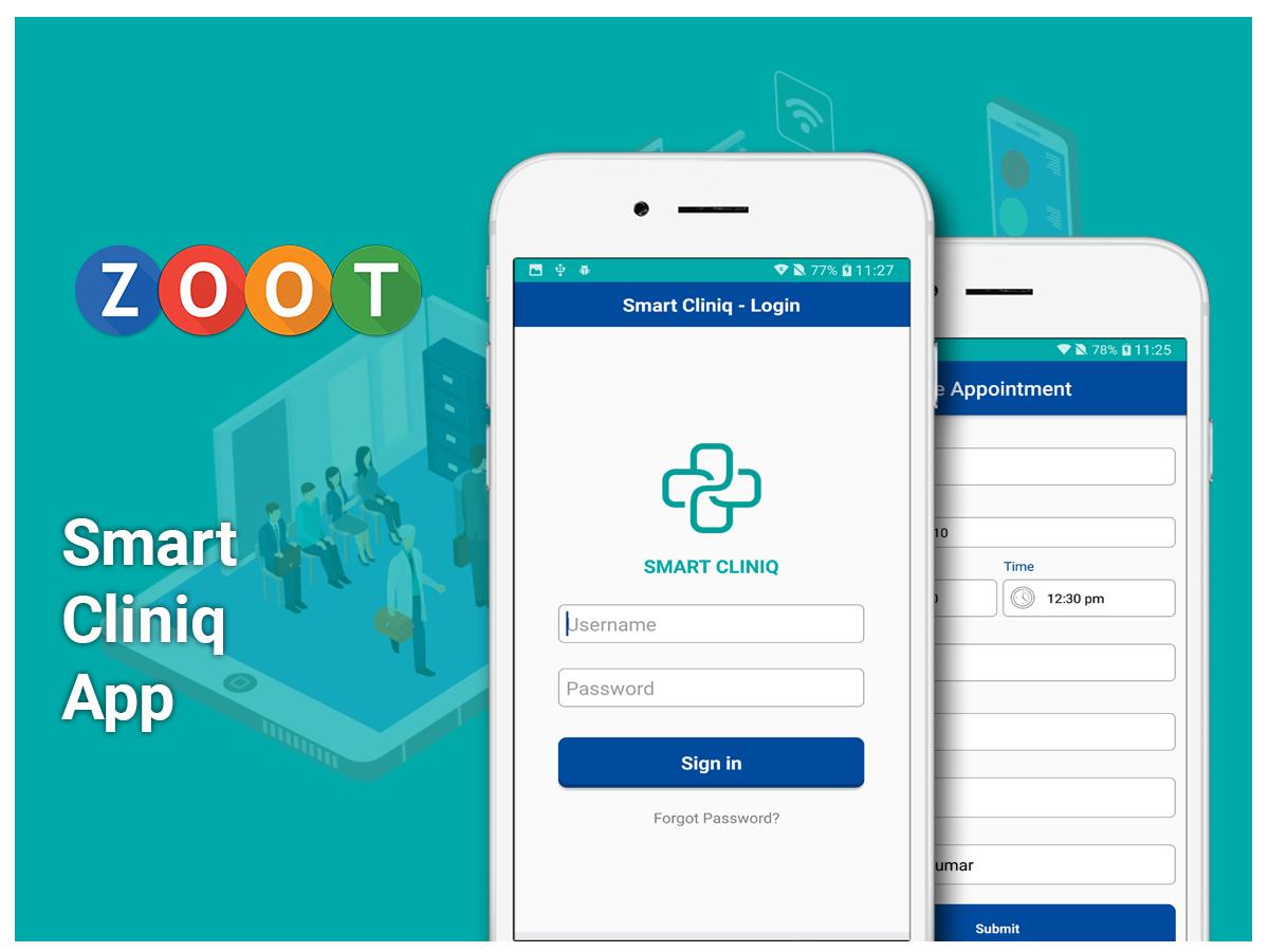 Smart cliniq app