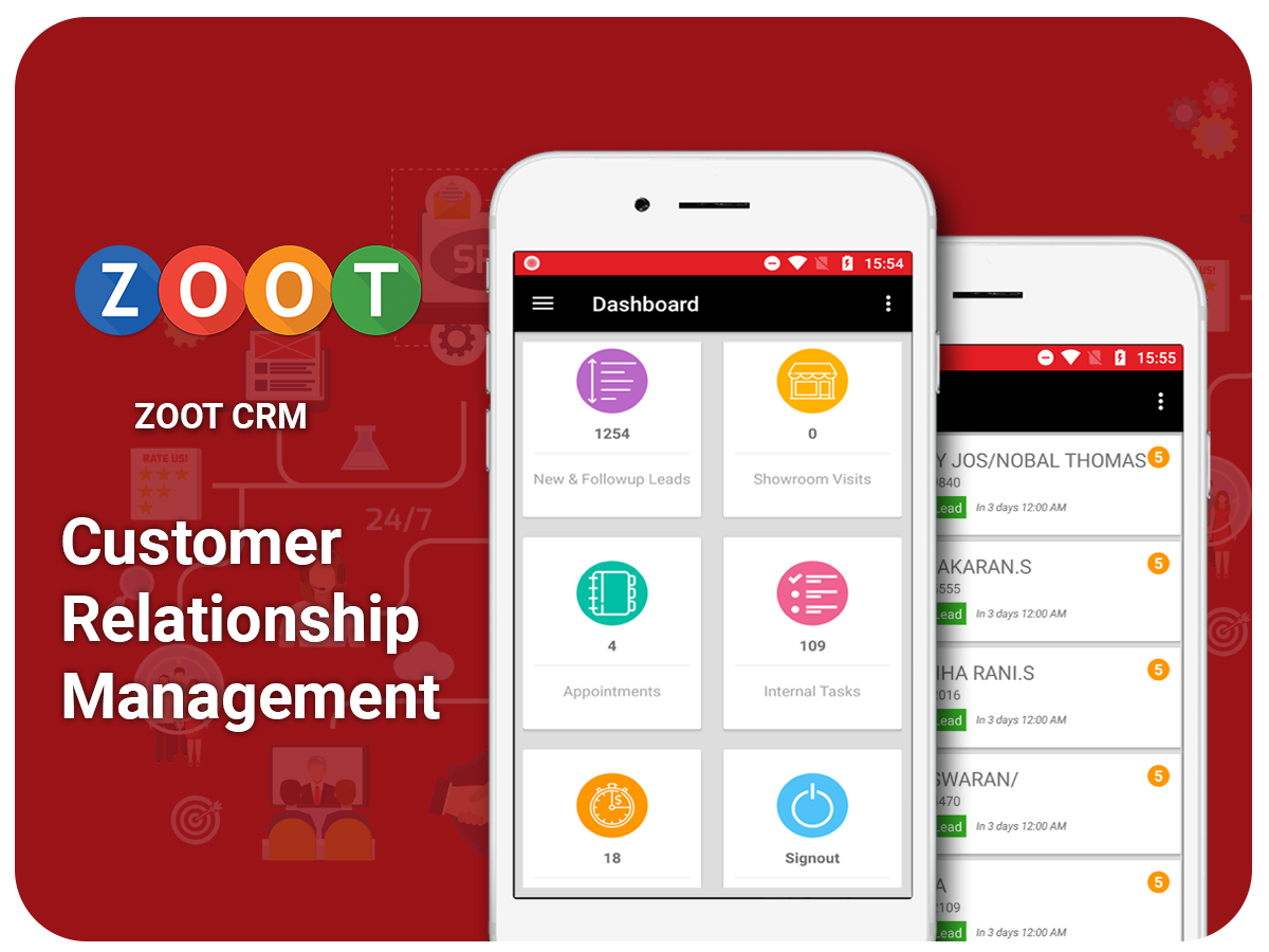 Customer relationship management - ZOOT DMS
