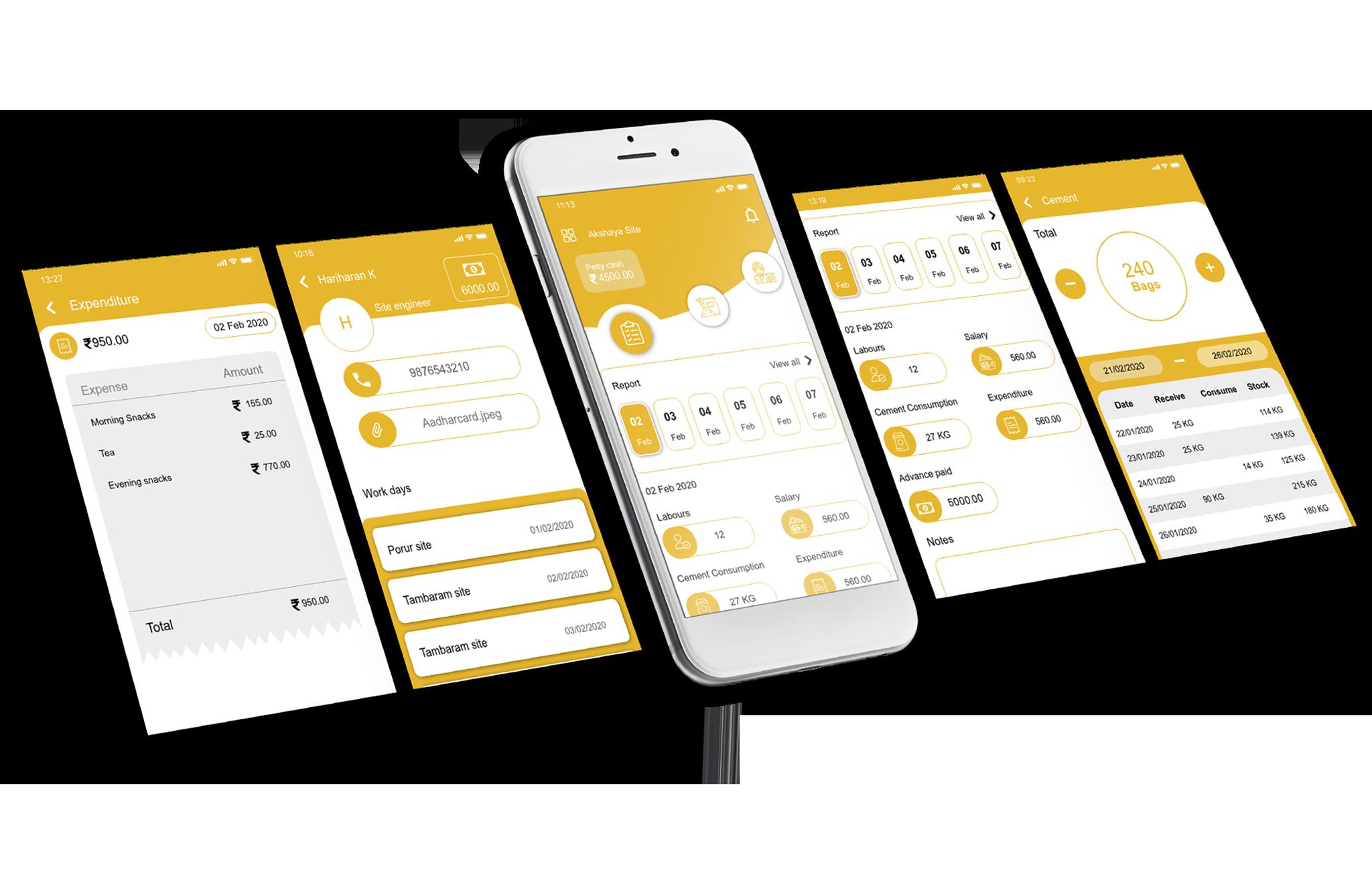 Anandaguru Infrastructure mobile app
