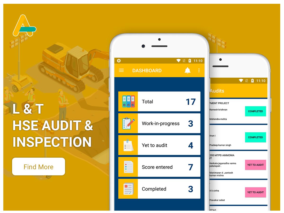 HSE Audit & Inspection app - AlphasoftZ