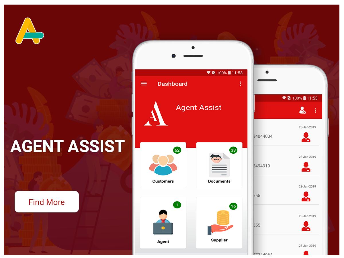 Agent assist mobile app - AlphasoftZ