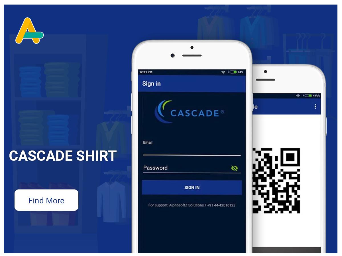 Casecade shirt - AlphasoftZ