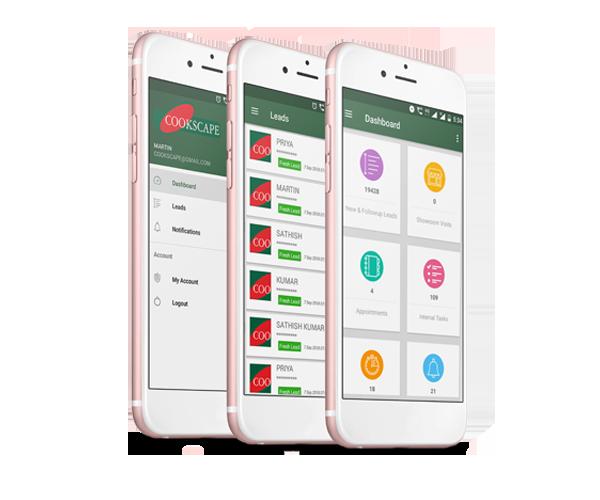 Cookscape CRM app