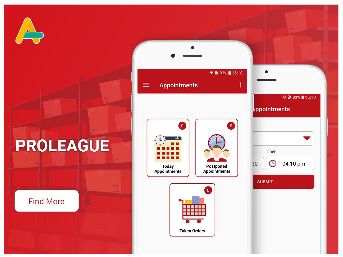 Pro league app - AlphasoftZ