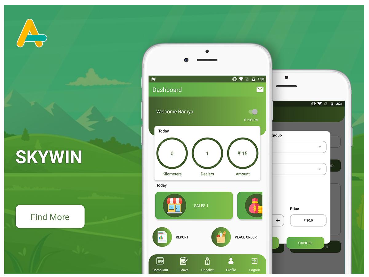 Skywin - Distribution management app - AlphasoftZ